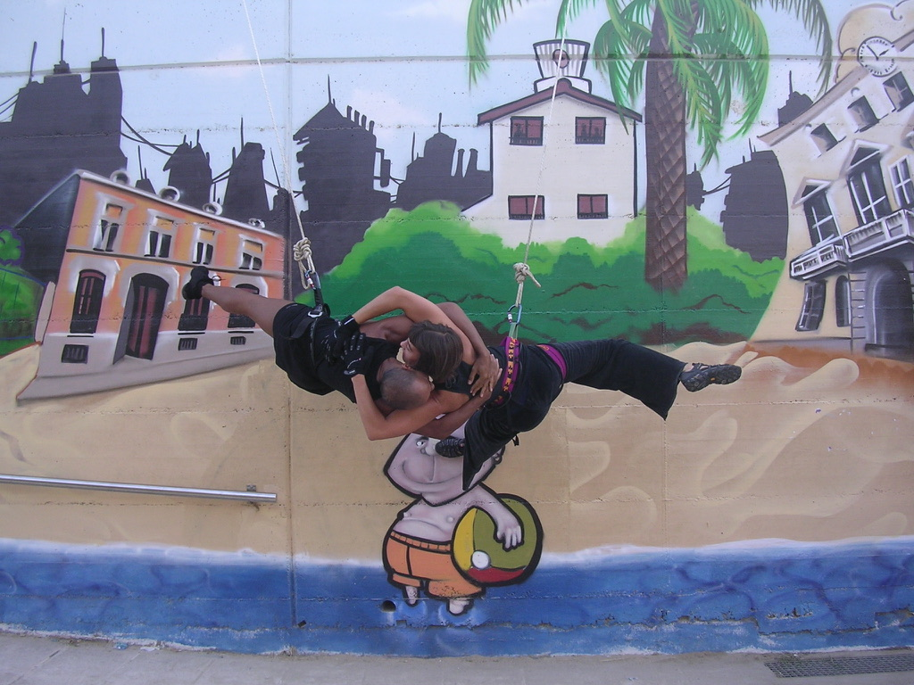 Aerial dance Workshop, Berlin, Luftdanza, Abel Navarro, Barcelona, Transit danse,