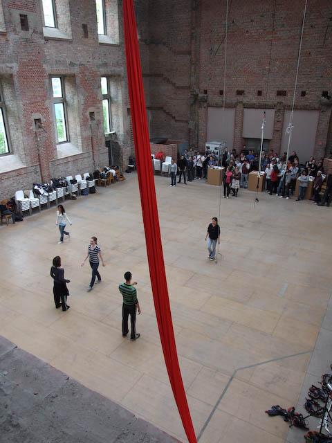 Aerial dance Workshop, Berlin, Luftdanza, Abel Navarro
