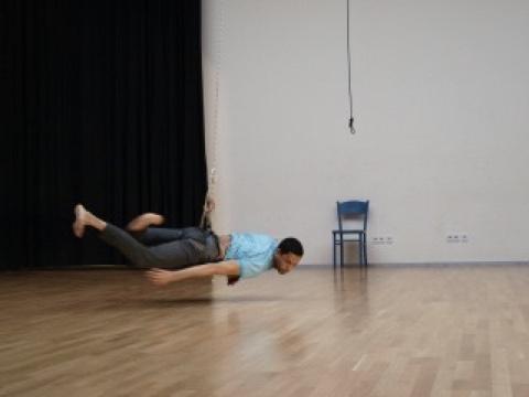 Aerial dance Workshop, Berlin, Luftdanza, Abel Navarro, uferstudios,