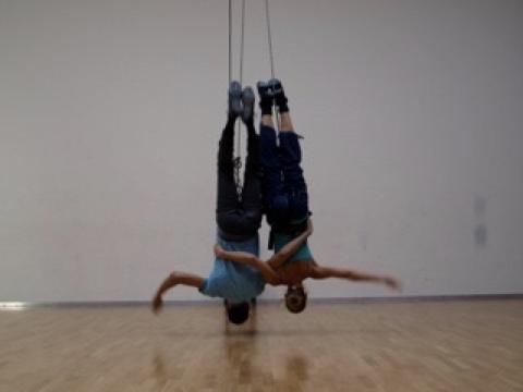 Aerial dance Workshop, Berlin, Luftdanza, Abel Navarro,uferstudios,